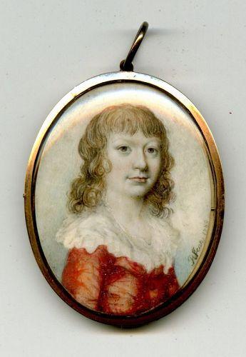 Philippe Jean Miniature Portrait c1789