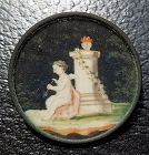 A Fine 18th Century Pictorial Button