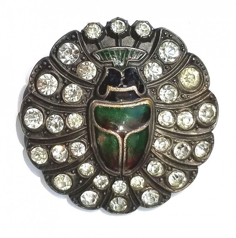 A Spectacular 19th Century Entomological Button