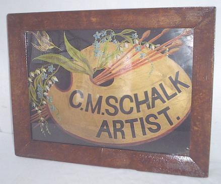 Americana Artist's Trade Sign c1830