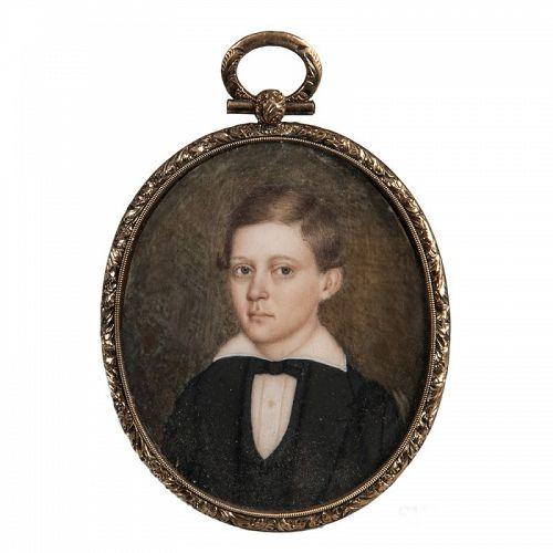 Wlliam Harrison Scarborough Portrait Miniature c1845