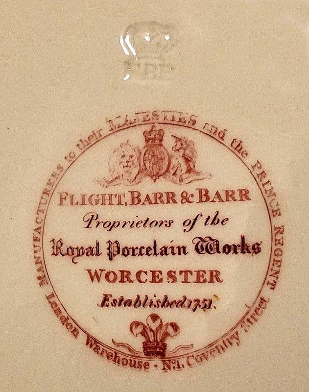 Superb Flight Barr Barr Harlequin Service Plate c1813 - 1819
