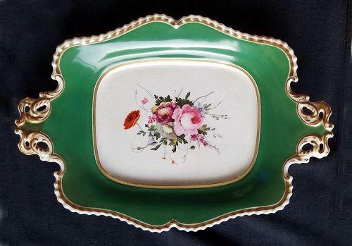 Chamberlain Worcester Porcelain Serving Dish c1830