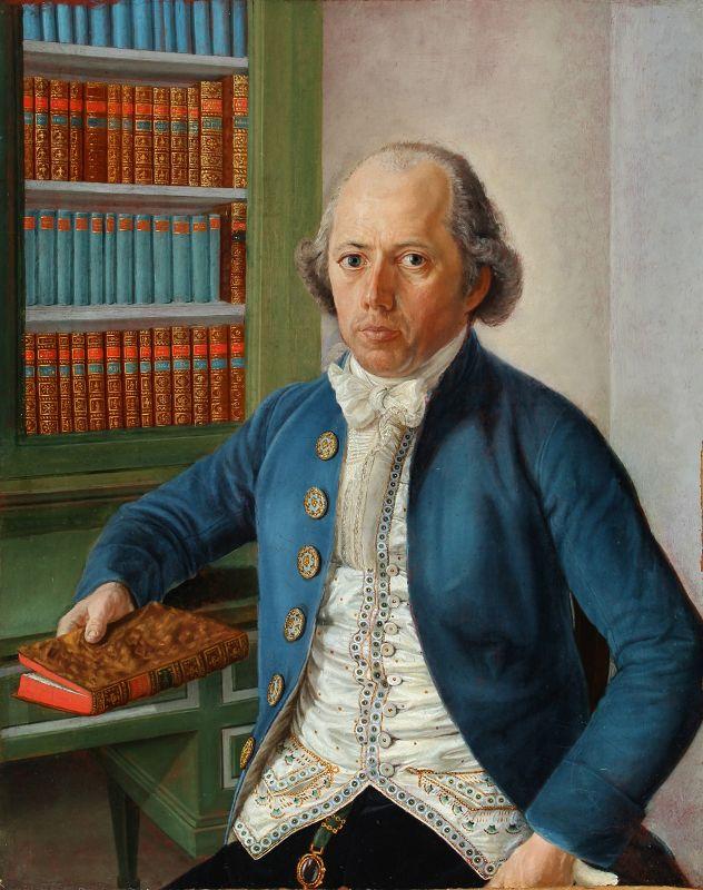 Superb Pair of American Portrait Paintings c1790