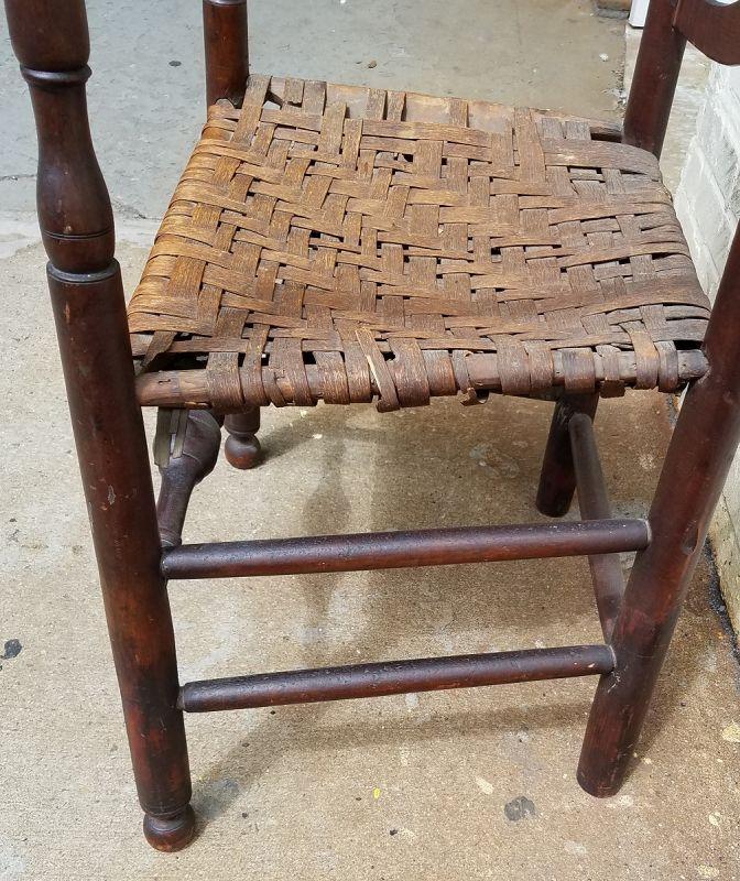 Delaware Valley Ladder Back Chair c1790
