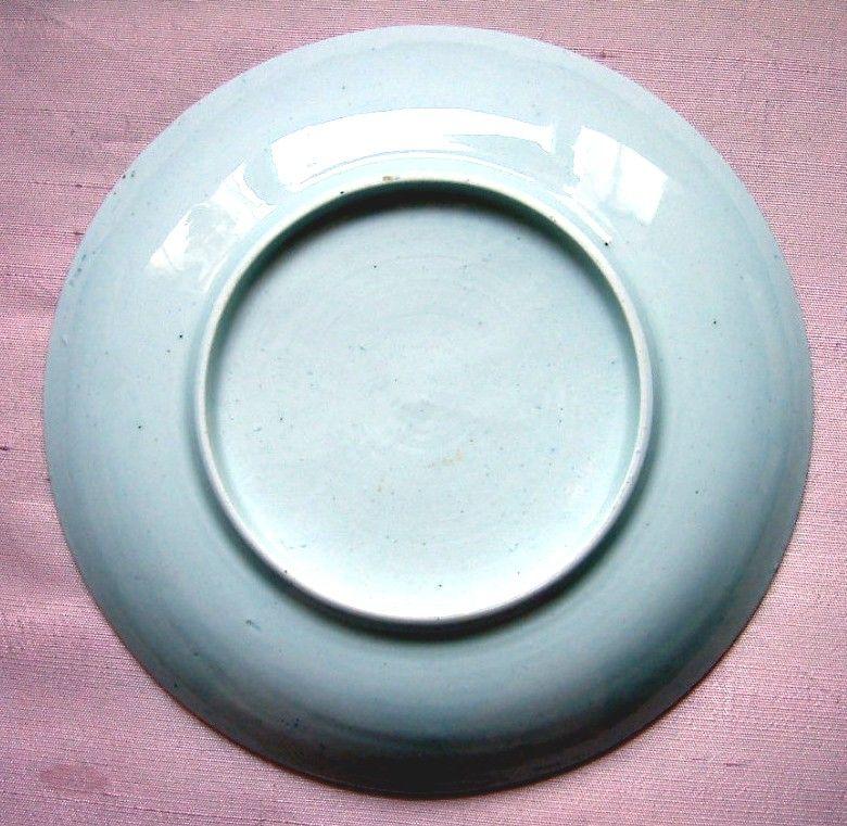 Rare Vauxhall Porcelain Saucer c1755-1757