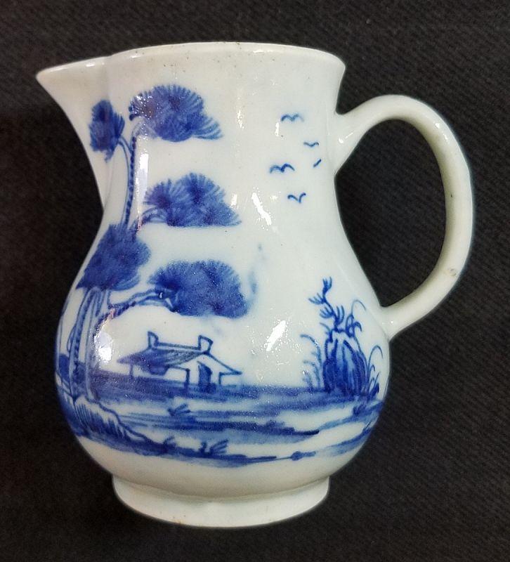 Early Bow Porcelain Cream Jug c1754