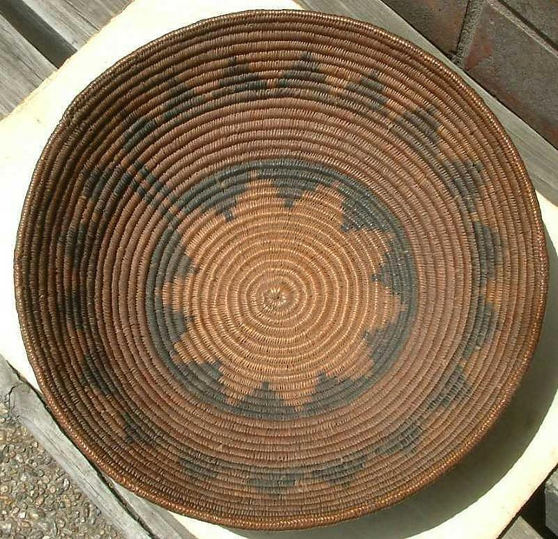 Navajo Marriage or Ceremonial Basket c 1880