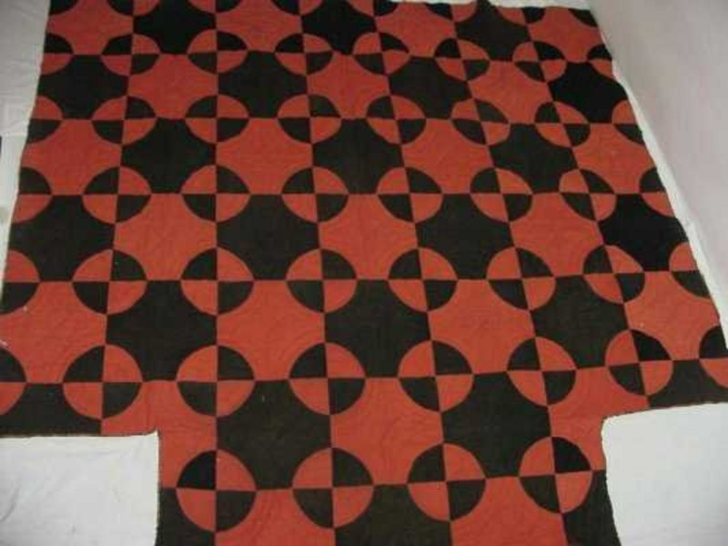 Rare Documented VT Quilt; C 1838