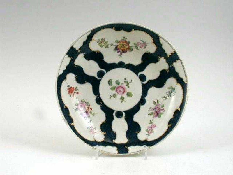 First Period  Worcester Saucerdish; C 1770