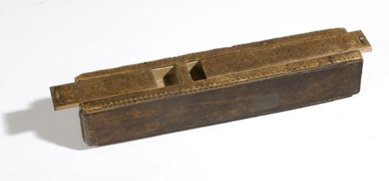 Rare Shaving Box,  18th Century American