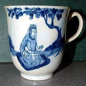 Bow Chocolate Cup, Koto Player  c 1760