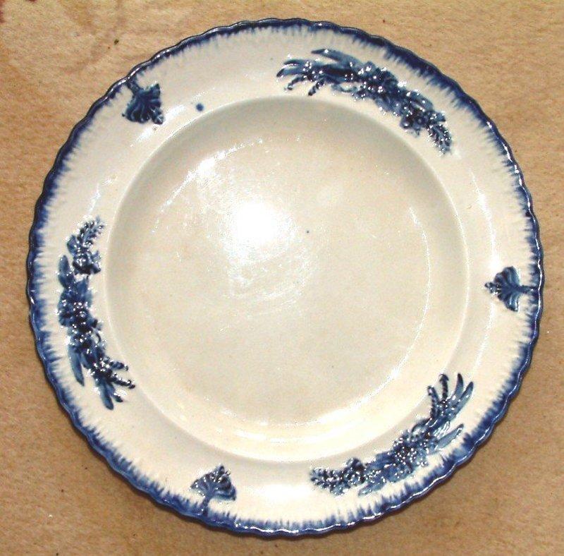 Leeds Feather Edge Type Molded Plate  c 1825