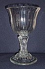 Superb English Sweetmeat Glass  c1750