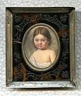Hyacinthe Mercier Miniature Portrait Painting  c1810