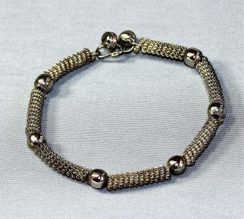 Thai Silver Bracelet with filigree work