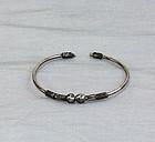 Silver bangle, Bracelet, jewelry