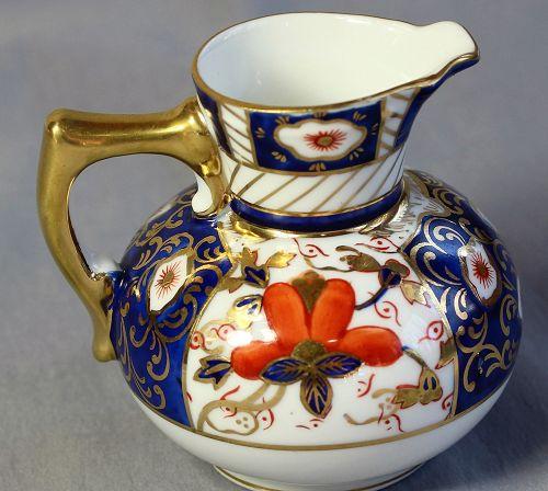 European Imari design Porcelain Creamer