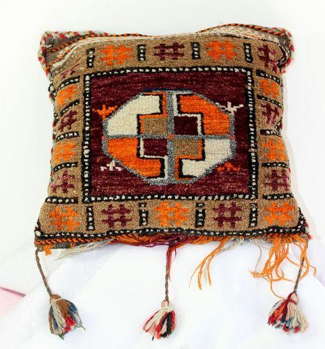 Afghanistan Wool Grain Bag Pillow