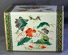 Chinese Famille Verte Porcelain Pillow, 19th C.