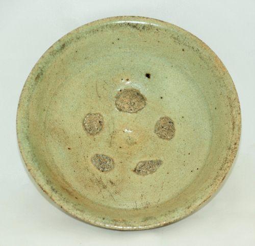 Chinese Celadon Pottery Dish