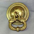 Tibetan Brass Dragon Door Knocker