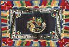 Tibetan Wool hand woven Horse Rug, Dragon design