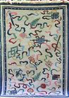 Tibetan hand woven Wool Rug, 100% Sheep Wool, Cotton backing