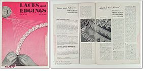 LACES AND EDGINGS BOOK NO. 199 DATED 1943