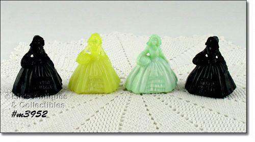 BOYDS GLASS COMPANY 4 LADY FIGURINES YOUR CHOICE