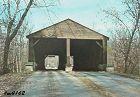 Vintage Postcard Covered Bridge Brown County Indiana