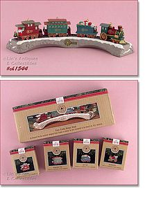 Hallmark Claus and Co RR Complete with Display Dated 1991