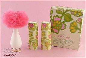 Avon Fluff Puff with Powder in Original Box