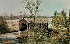Postcard Indiana Covered Bridge