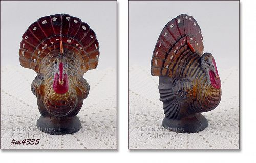 GURLEY CANDLE COMPANY THANKSGIVING TURKEY CANDLE