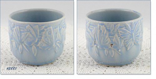 McCoy Pottery Butterfly Line Planter Small Jardiniere