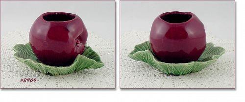 McCoy Pottery Apple on Leaves Planter