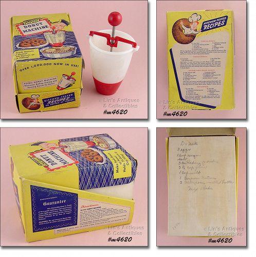 Vintage Popeil Donut Machine in Original Box