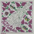 Vintage State Handkerchief for New Hampshire