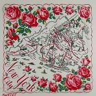 Vintage Souvenir Hanky for New York City