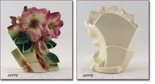 McCoy Pottery Magnolia Blossom Vase