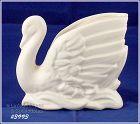 McCoy Pottery Matte White Swan Planter