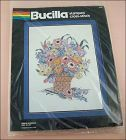 BUCILLA SPRING BLOSSOMS VINTAGE STAMPED CROSS STITCH KIT UNOPENED