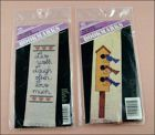 Counted Cross Stitch Bookmark Kits Two Kits