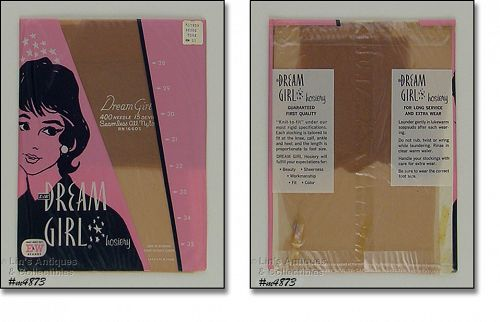 VINTAGE DREAM GIRL SEAMLESS NYLONS MIP SIZE 11