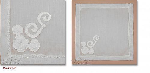 Vintage Monogram G Handkerchief