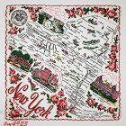 Vintage State Souvenir Hanky New York The Empire State