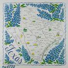 State Souvenir Hanky Texas