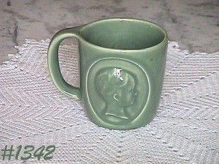 McCoy Pottery Rho Gam Pharmacy Mug