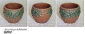McCOY POTTERY -- LEAVES AND ACORNS JARDINIERE